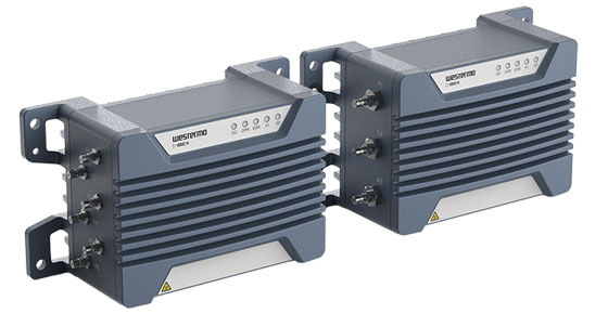 Westermo Ibex series industrial WLAN devices.